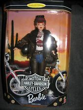 Barbie doll  1998 Harley Davidson  2nd in series red hair mint in box