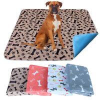Large Dog Cat Training Pads Pee Wee Mats Reusable Pet Mat Indoor Toilet Blankets