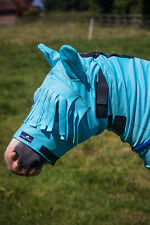 CLEARANCE 75% OFF Snuggy Hoods Horse/Pony Sweet Itch Mask/Fly Mask NEW