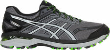 ASICS Mens GT-2000 5 Trail Runner Carbon/Mid Grey/Green Gecko EU47/US12.5/UK11.5