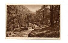 Scotland - In The Trossachs - Vintage Raphael Tuck Postcard