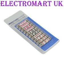 BUSSMAN 10 X ASSORTED MIXED MAINS FUSE PLUG TOP FUSES 4 X 13A, 2 X 5A, 4 X 3A