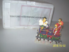 A Caroling Surprise From The Simpson Christmas Express train in box & coa