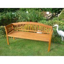 Kano24  Holz Gartenbank 3-sitzig Sitzbank  Kir Royal  Parkbank Eukalyptus Teak