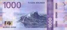 NORWAY 1000 KRONER P-NEW 2019 UNC