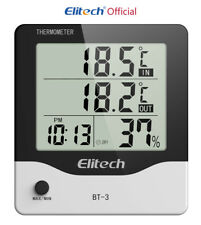 Thermometer  Elitech BT-3 Digital LCD Temperature Humidity Hygrometer