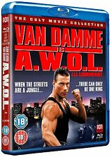 A.W.O.L.     BLU RAY      NEW/SEALED   JEAN-CLAUDE VAN DAMME