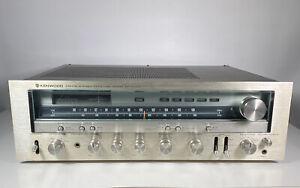 Kenwood Model KR-8010 Stereo Receiver Vintage 1978 Tested Works