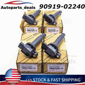 Good Quality Ignition Coil 4X For Scion xA xB/ Echo Prius Prius C Yaris 1.5L L4