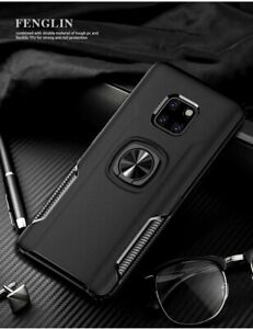 Shockproof Ring Holder hard Case Cover For Huawei Mate 20 30 40 pro +