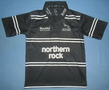Newcastle Falcons / 2006-2007 Home - KooGa - JUNIOR rugby Shirt / Jersey. LGB