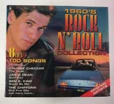 1960's Rock n' Roll Collection 8 CDs 100 Songs New Sealed Madacy Canada