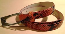 Cintura Donna Coccinelle L= 85 x 2 cm Made in Italy - Entirely Hand Crafted