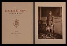 Le GÉNÉRAL PERSHING à l'hôtel de Ville (19 octobre 1921) - 1922