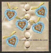 FRANCE 2001...MINIATURE SHEET n° 33 MNH **...HEARTS...CHRISTIAN LACROIX