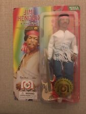 "JIMI HENDRIX MART ABRAMS PRESENTS Mego 8"" action figure NEW IN BOX"