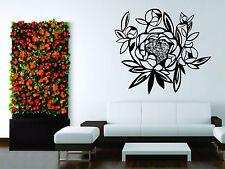 Wall Sticker Decal Vinyl Art Decor Peony Flower Love Living Room
