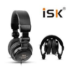 ISK HP-960B Studio Monitor Dynamic Stereo HD DJ Headphones Noise Isolating New