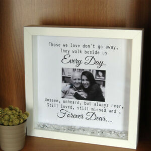 In Loving Memory Frame Print Gift Personalised Those We Love Memorial Framed
