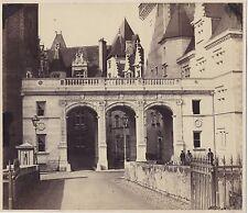 Le château de Pau France Vintage Albumine ca 1860-5