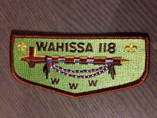 OA (BSA) Wahissa Lodge #118 - S14 Lodge Flap