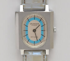 Valadier unisex rectangular vintage 1970 steel watch new old stock well working