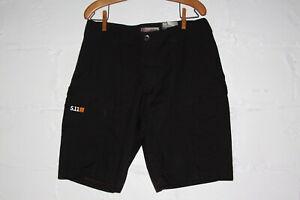 NWT 5.11 Tactical Black Apex Shorts Sz 34 NICE WOW