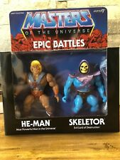Masters of the Universe Epic Battles HE-MAN & SKELETOR Super7 Exclusive 2-Pack