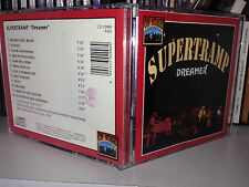 "SUPERTRAMP "" DREAMER "" RARE CD RECORDED LIVE IN THE USA 1976"