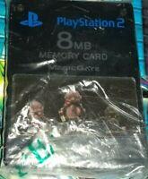 MEMORY CARD X GIOCHI RETRO CONSOLE GAME SONY PLAYSTATION PS 2,MEMORIA MAGIC GATE