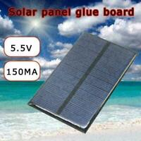 6V 150MA Mini Solar Panel System For DIY Battery Cell Phone H0S1 T5X7 Modul O4E6