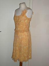 Vestido de noche 100% Seda Kay Unger Boda talla 8 UK