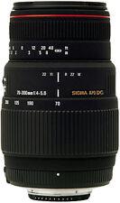 Sigma 70-300 mm F4-5.6 APO MACRO Lens in Sony A Minolta fit (UK Stock) BNIB NEW