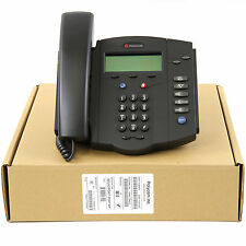 Polycom SoundPoint IP 301 SIP VoIP AC Business Phone Set-Lot NEW 1 YEAR WARRANTY