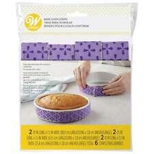 NEW Wilton Bake Even Strips 6 Pack By Spotlight