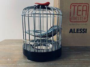 """Alessi """"Tea Matter"""" Bird Cage Tea Strainer BNIB   Hard to find"""