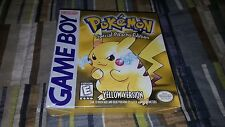 Pokemon Yellow Version Special Pikachu Edition Nintendo Game Boy New Sealed Mint