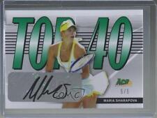 2013 Ace Authentic Signature Series Top 40 /5 Maria Sharapova #T40-MS1 Auto