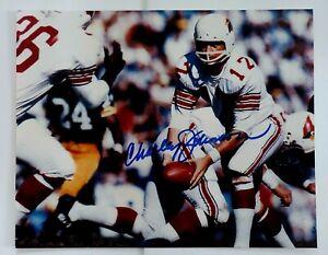 Charlie Johnson Signed 8 x 10 Photo St Louis Cardinals