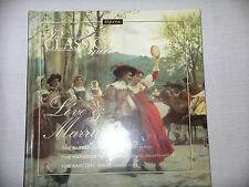 Love & Marriage - Beautiful GIFT Quality Rare Mint In Classical Mood Book and CD