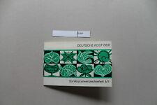 DDR Sondermarkenheftchen SMHD 6cdbx, Inhalt postfrisch,
