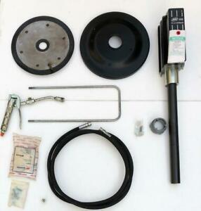 INGERSOLL RAND ARO LM2350E-21-B PNEUMATIC AIR GREASE PUMP WITH ACCESSORIES