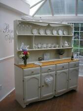 ANY SIZE, STYLE PAINTED 2 ORDER SHABBY CHIC WELSH DRESSER, FARROW & BALL