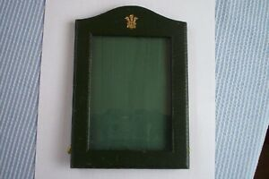 ROYAL LEATHER PRESENTATION PHOTO FRAME FOR PRINCE OF WALES