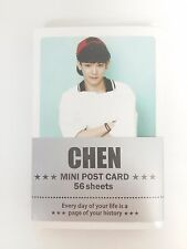 CHEN EXO XOXO Photo Mini Post Card 56 Sheets KPOP Korean Pop Star Music