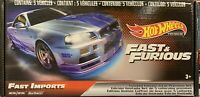 Hot Wheels Limited Edition Collection Fast And Furious Premium Fast Imports Set