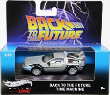Hot Wheels Back To The Future Time Machine Elite One #Bly16 New Nrfb Gray 1:50
