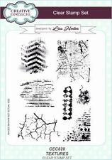 Creative Expressions Lisa Horton TEXTURE A5 Clear Stamp Set