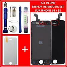 Display für iPhone 5S / SE RETINA LCD Scheibe Bildschirm Frontglas SCHWARZ BLACK