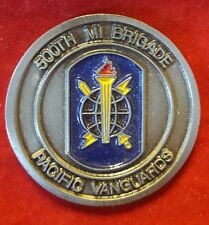 500th Military Intelligence Brigade ~ Challenge Coin (VINTAGE ~ AUTHENTIC)